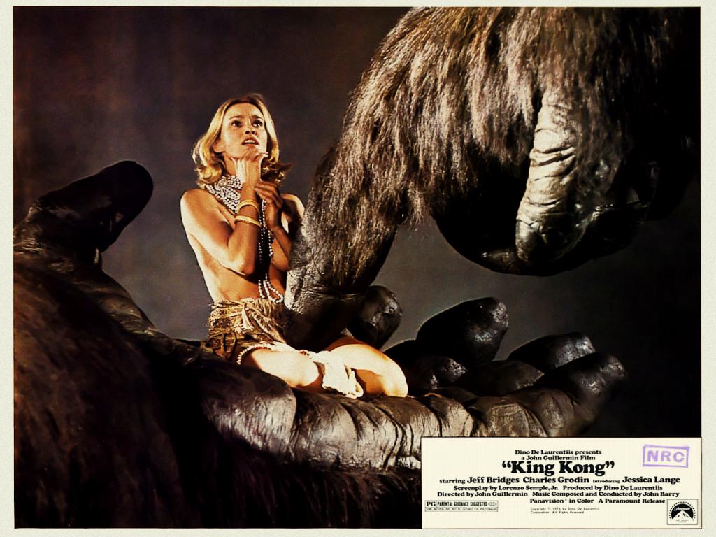 King Kong *** (1976, Jeff Bridges, Charles Grodin, Jessica